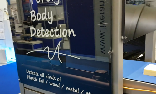Foreign body detection machine